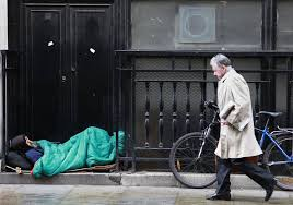 North and Midlands - The government aims to eliminate rough sleeping within the next eight years.
