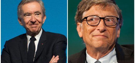 Bernard Arnault of LVMH Overtakes Bill Gates As Second Richest Man