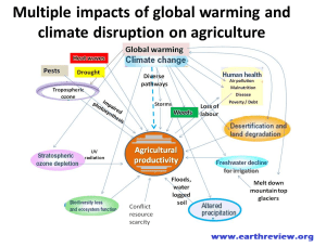 climate change impact on crop production