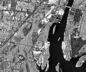 Sentinel-1 mediated image Cross-Pol: a particular of Detroit River International Wildlife Refuge