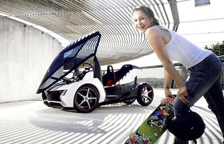 Frankfurt Motor Show 2011: Opel RAK e Concept - image via Opel