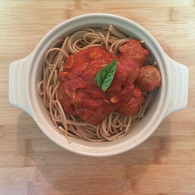 Quorn Spaghetti Meatballs