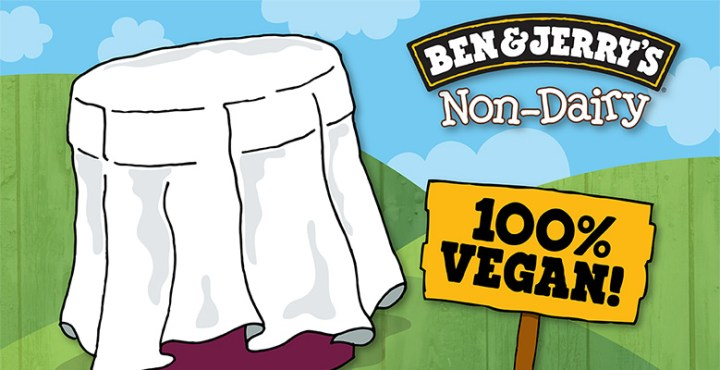 BEN & JERRY'S ARE MAKING VEGAN ICE CREAM!!!