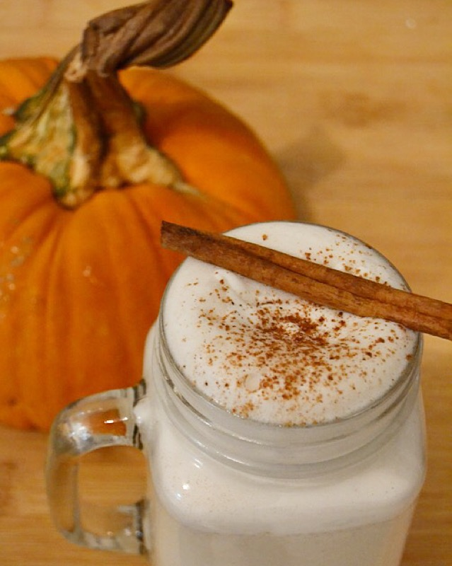 Vegan Pumpkin Spiced Almond Milk + Coconut Cream