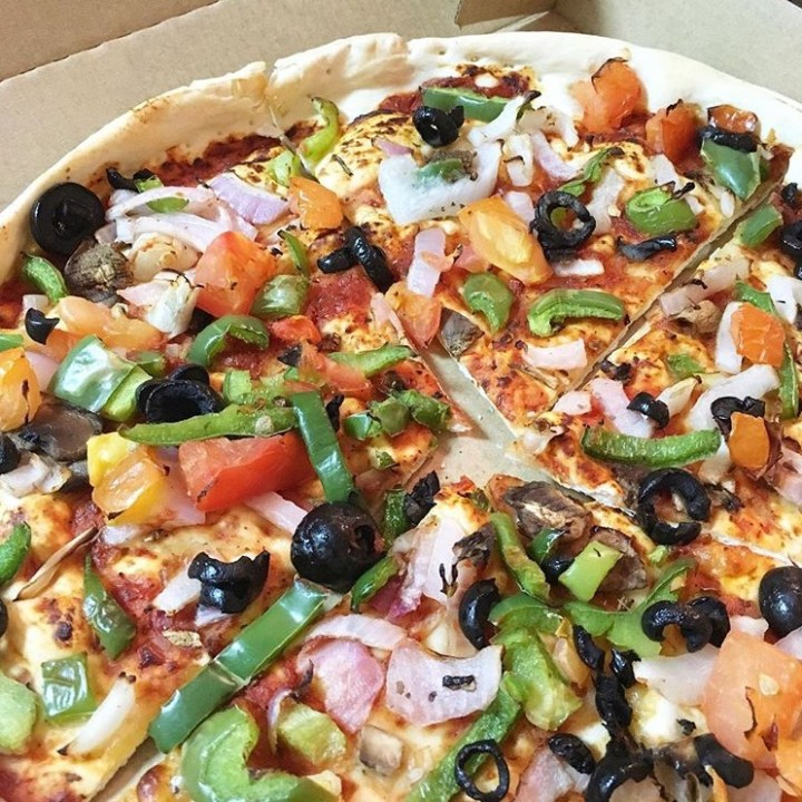 Vegan Pizza From Pizza Hut
