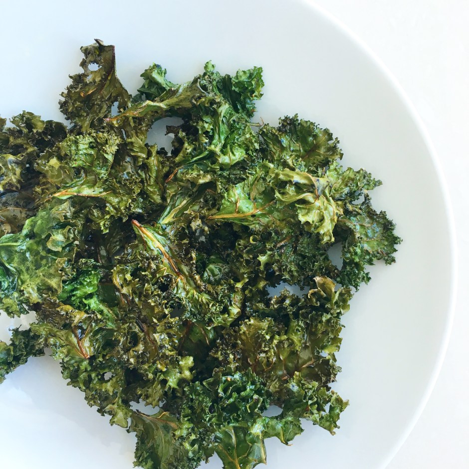 The Best Kale Chips (Cooked in coconut oil – YES)