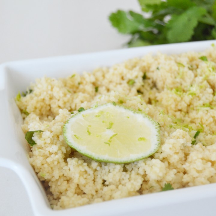 Time for Lime Couscous