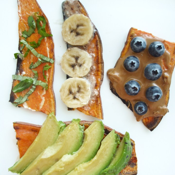 Easy Sweet Potato Toast: OBSESSED