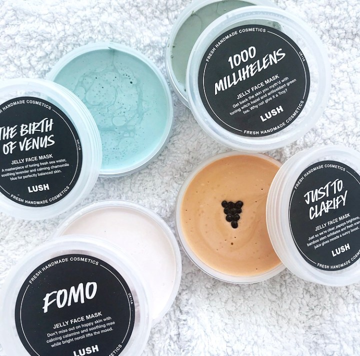 Lush Jelly Face Masks Review