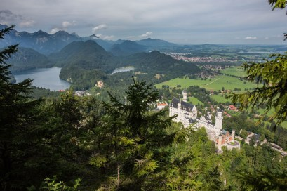 A View over Neuschwanstein2