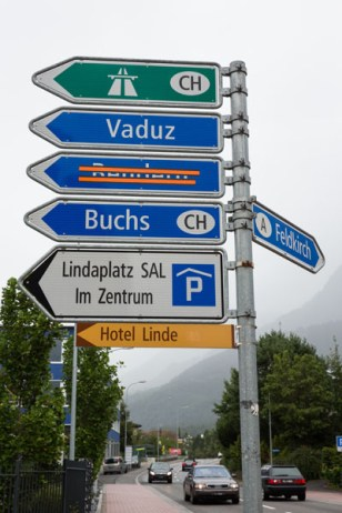 Liechenstein Sign