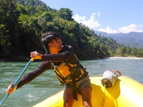 Bhutan Rafting Guide