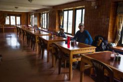 Teahouse dining room