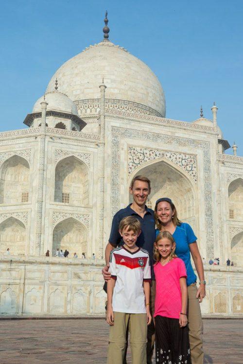Earth Trekkers Taj Mahal 2