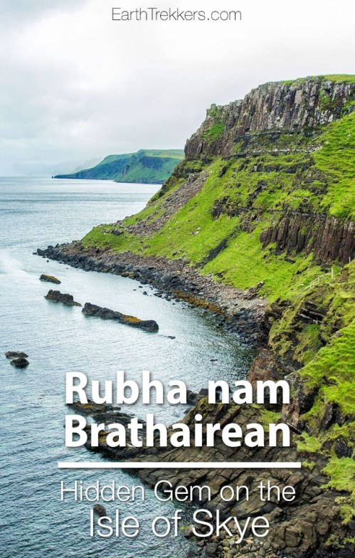 Isle of Skye best thing to do Rubha nam Brathairean