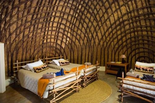 Beehive hut