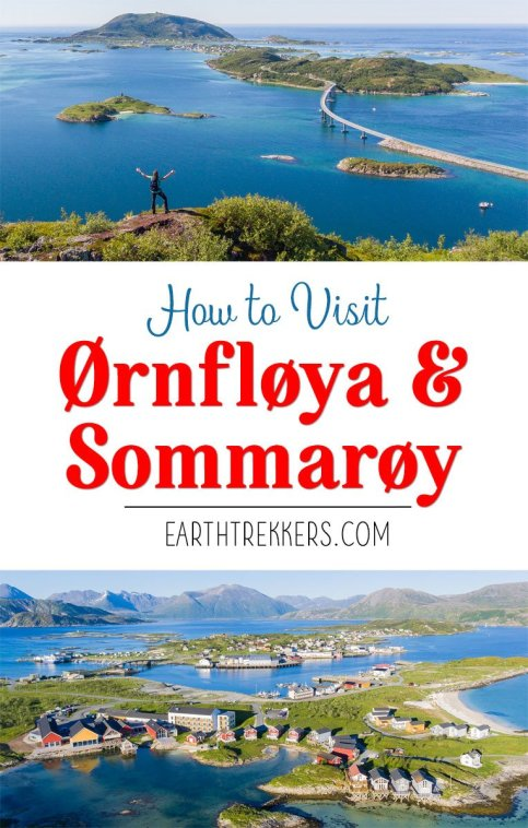Hiking Ornfloya in Sommaroy Norway