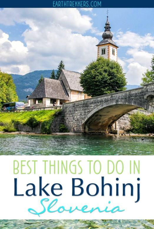 Best Things to do Lake Bohinj Slovenia