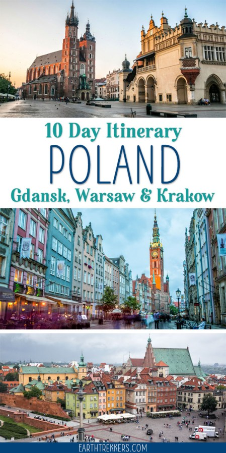 Poland Itinerary Gdansk Warsaw Krakow
