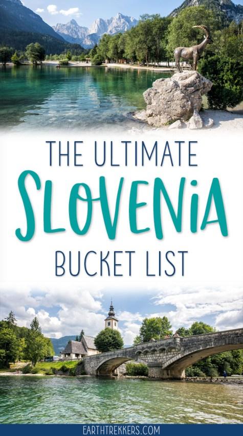 Slovenia Bucket List