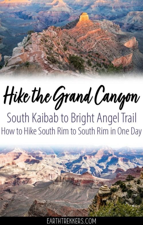 Grand Canyon Hike Bright Angel Trail