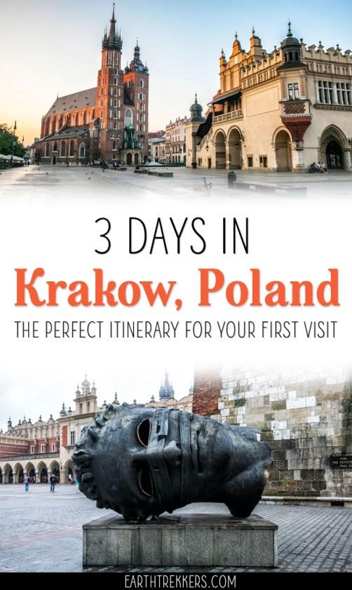 Krakow-Itinerary-with-Auschwitz ▷ 3 días en Cracovia: el itinerario perfecto para tu primera visita