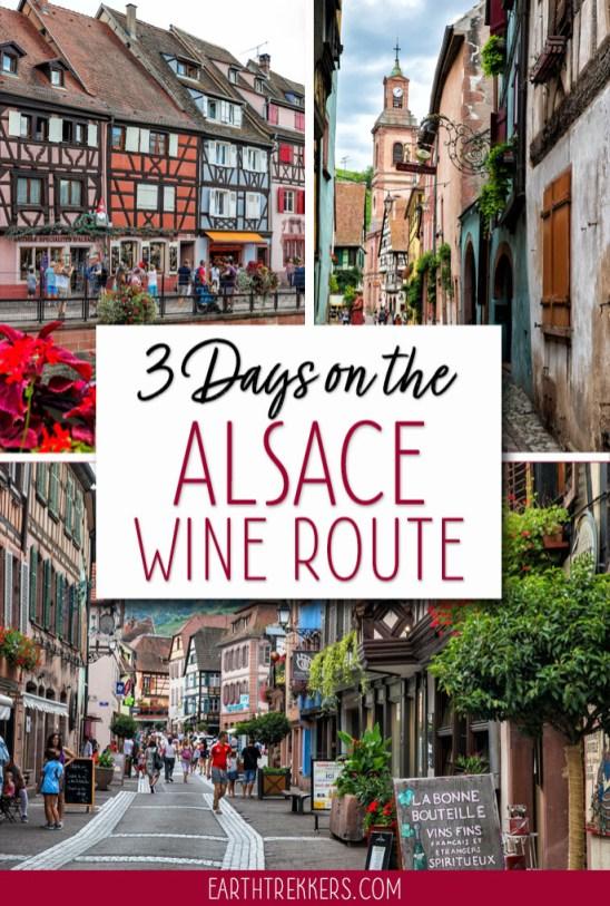 3-Days-Alsace-Region-France-Itinerary ▷ 3 días en la ruta del vino de Alsacia