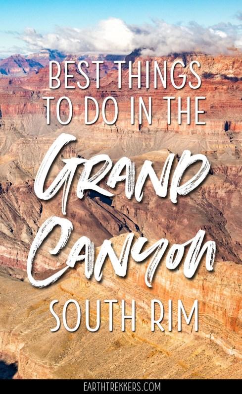 Grand-Canyon-South-Rim-Travel-Guide ▷ Las mejores cosas que hacer en el borde sur del Gran Cañón