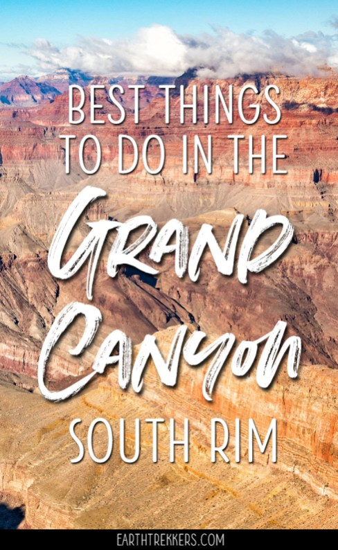 Grand Canyon South Rim Travel Guide