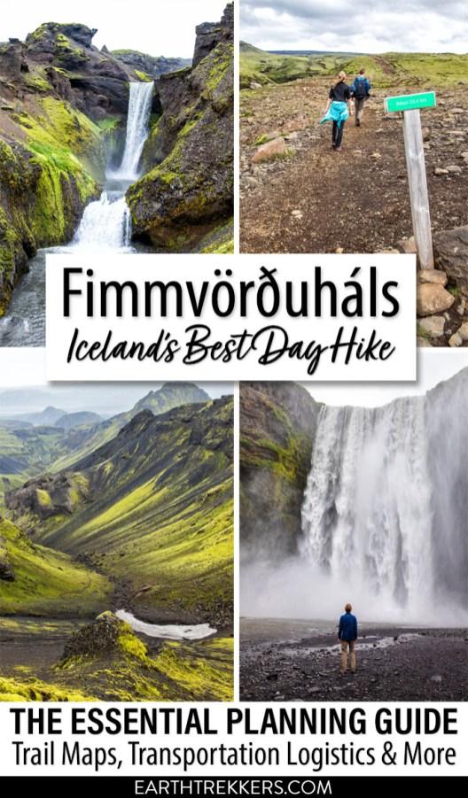 Fimmvorduhals Best Hike Iceland