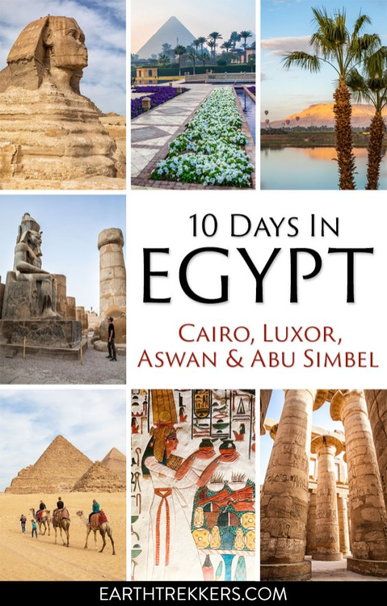 10 Days in Egypt Itinerary and Travel Guide