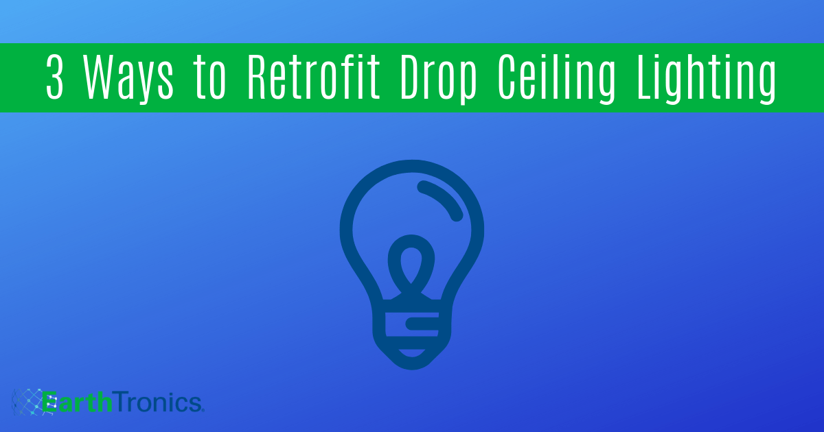 retrofit drop ceiling lighting