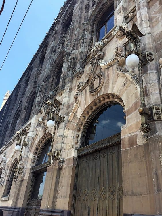 exterior of mexico city post office - one of the mexico city travel guide stops