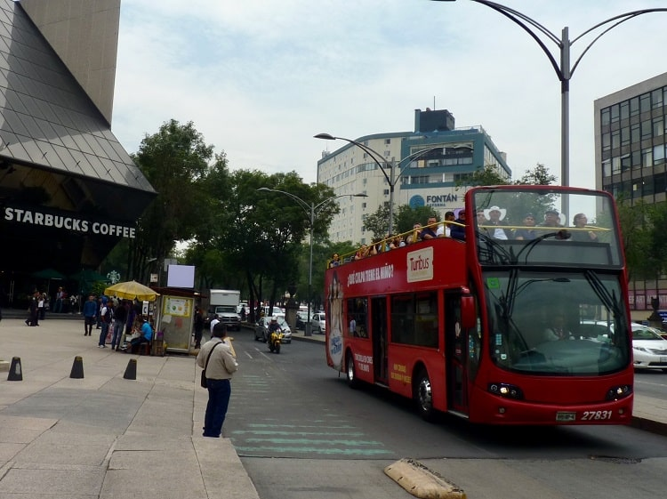 turibus in mexico city as mentioned in earth vagabonds mexico city travel guide