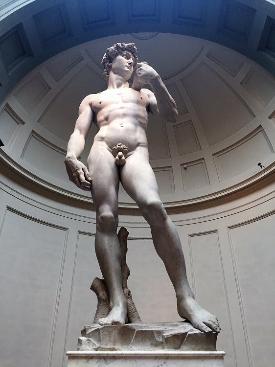 michelangelo's statue 'David' is a must see on travel northern italy