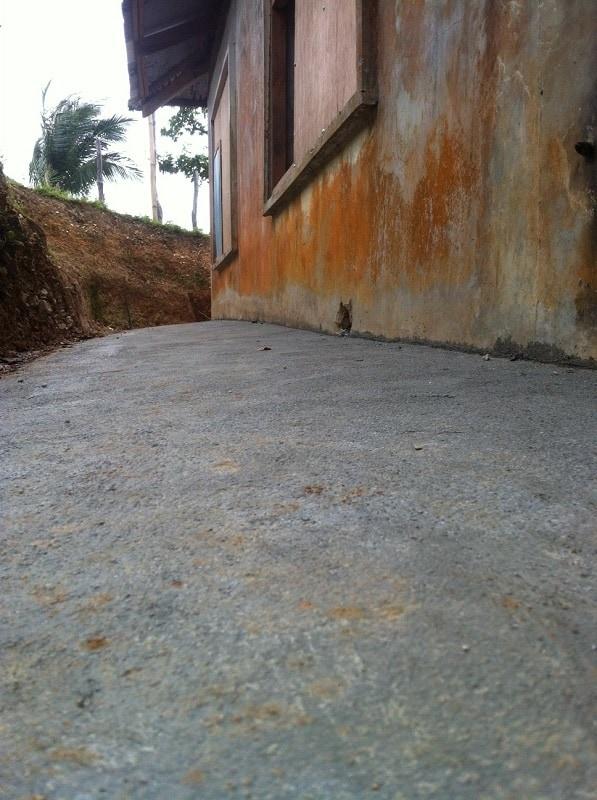 Concrete at Kurong community center