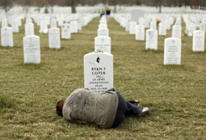Our Veterand and Depression - Arlington National Cemetery