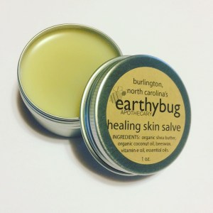 tin of healing skin salve