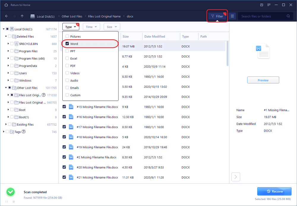 How to Recover Deleted, Lost, Unsaved Word Documents - EaseUS