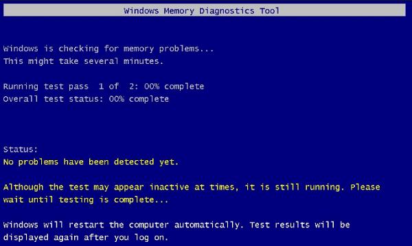 Repair Windows BSOD error with Memory Diagnostic tool .