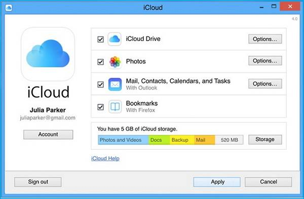 how to download icloud