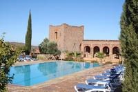 The pool at Kasbah Angour
