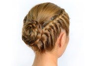 Styling with Tape In Hair Extensions: Braided Bun