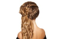 Summer Styles With Clip In Hair Extensions: Fishtail