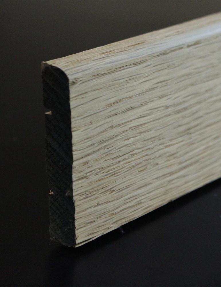 plinthe chene massif - 16 x 68 mm