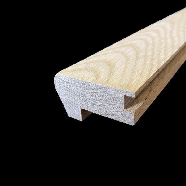 nez de marche chene massif 28x50 mm