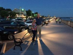 Boardwalk after dinner
