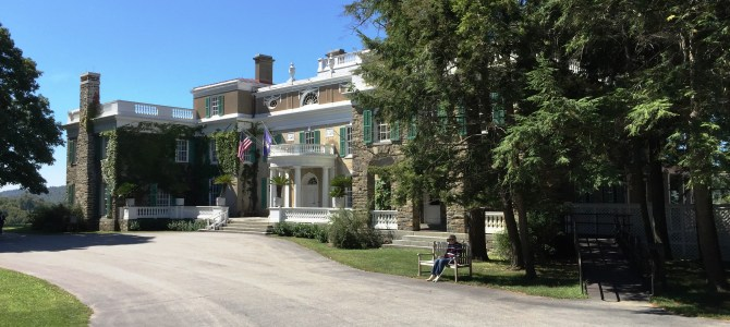 Easin' Along visits the Roosevelt Homes and Presidential Library