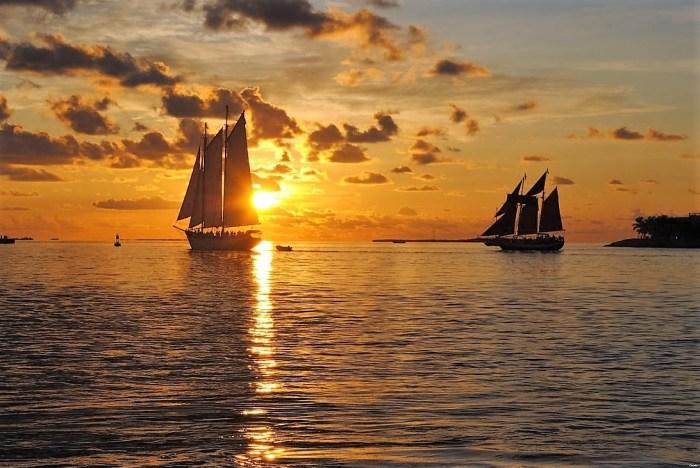 Sunset - Mallory Square, Key West, FL