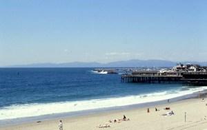Redondo Beach at pier